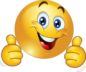 smiley face clip art thumbs up clipart two thumbs up happy smiley emoticon 512x512 eec6 300x252